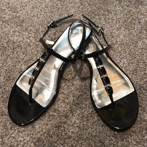 Nina Black Sandals Size 8M